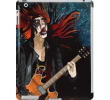 Black Metal Barbie iPad Case/Skin