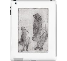 A Woman Looks Up iPad Case/Skin