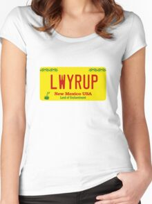 LWYR UP Women's Fitted Scoop T-Shirt