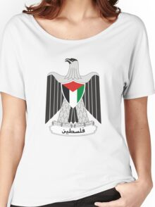 Coat of Arms of Palestine Women's Relaxed Fit T-Shirt