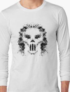 Casey Jones Rorschach Test Long Sleeve T-Shirt