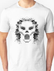 Casey Jones Rorschach Test Unisex T-Shirt
