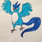 Articuno from Pokemon by OBGBrony