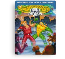 battletoads vs double dragon Canvas Print