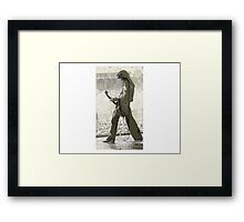 Jimmy Page - The Hermit Tarot Framed Print