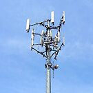 Cell Tower on Sky by ubiquitoid