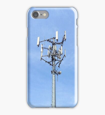 Cell Tower on Sky iPhone Case/Skin