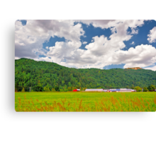 Beautiful Farm Canvas Print