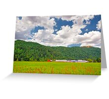 Beautiful Farm Greeting Card