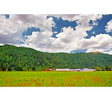 Beautiful Farm Photographic Print
