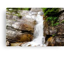 Rocky mountain Canvas Print
