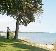 Tuesday Afternoon on the Oshawa Lakeshore by Gary Chapple