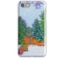 Stunning Fine Art Winter Scene (No.1) iPhone Case/Skin