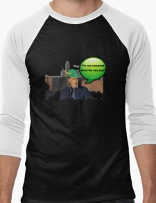Mitt Romney i'm not concerned about the very poor robin hood 2012 Men's Baseball ¾ T-Shirt