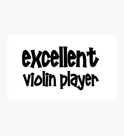 Violin Photographic Print