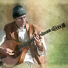 The bouzouki player by Jan Pudney