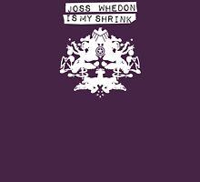"""""""Joss Whedon Is My Shrink"""" - Light Womens T-Shirt"""