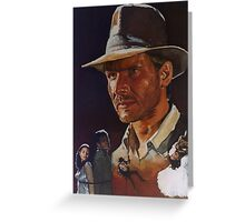 Raiders Of The Lost Ark Greeting Card