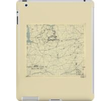 August 18 1944 World War II Twelfth Army Group Situation Map iPad Case/Skin