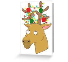 UPDATED Raindeer Doodal Greeting Card