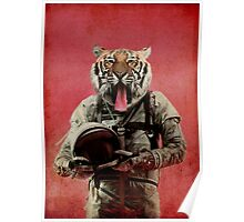 Space tiger Poster