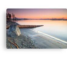 West coast winter sunrise Canvas Print