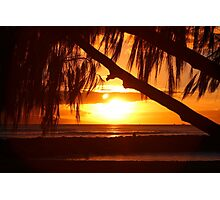 Maui Sunset Photographic Print