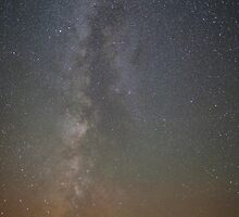 Straight Up Milky Way by jzboril88