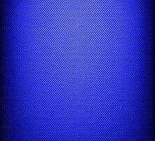 Electric Blue Metal by Paula J James