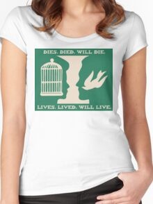 BIOSHOCK-LUTECE Women's Fitted Scoop T-Shirt