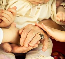 3 Generations of hands by MeganRizzoPhoto