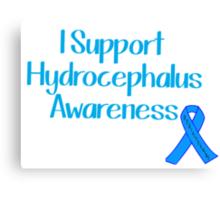Hydrocephalus Awareness Canvas Print