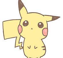 Pikachu by mythicalsm0sh