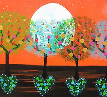 ♥ ♥ ♥ ♥ ♥ Heart Trees♥ ♥ ♥ ♥ ♥ by emelisa