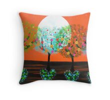 ♥ ♥ ♥ ♥ ♥ Heart Trees♥ ♥ ♥ ♥ ♥ Throw Pillow