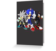 Hedgehog Trio Greeting Card