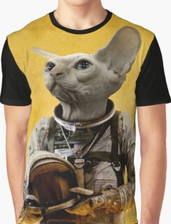 Proud astronaut Graphic T-Shirt