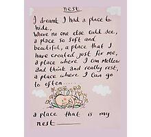 nest Photographic Print
