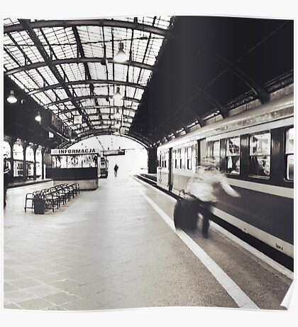 Train Station Poster