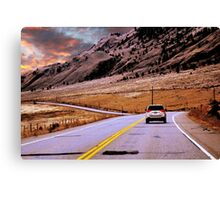 BC Highway Canvas Print