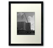 On the road Atros - Music in the highest Framed Print