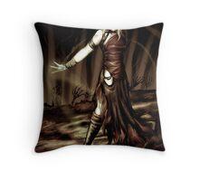 Necromancer Throw Pillow