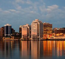Halifax's first light by Nancy Killam