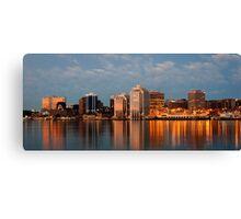 Halifax's first light Canvas Print