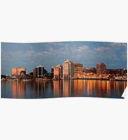 Halifax's first light Poster