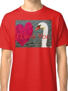 Message of love Classic T-Shirt