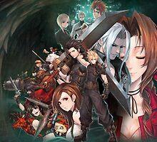 Final Fantasy 7 by billybartley