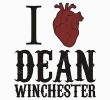 Anatomical Love - Dean Winchester by tripinmidair