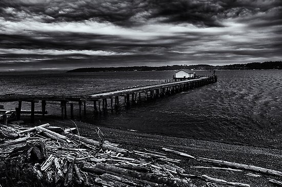 Old Pier by Jeffrey  Sinnock