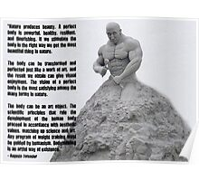 Bodybuilding - An Artful Way of Existence Poster